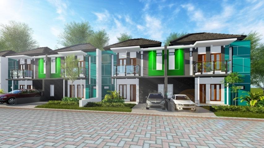 Rumah Besar Type 100 di Blimbing Malang