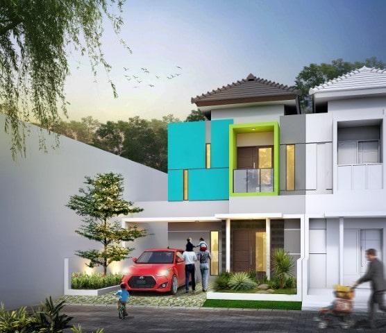 Rumah Facade B6 Type 65 Blimbing Malang