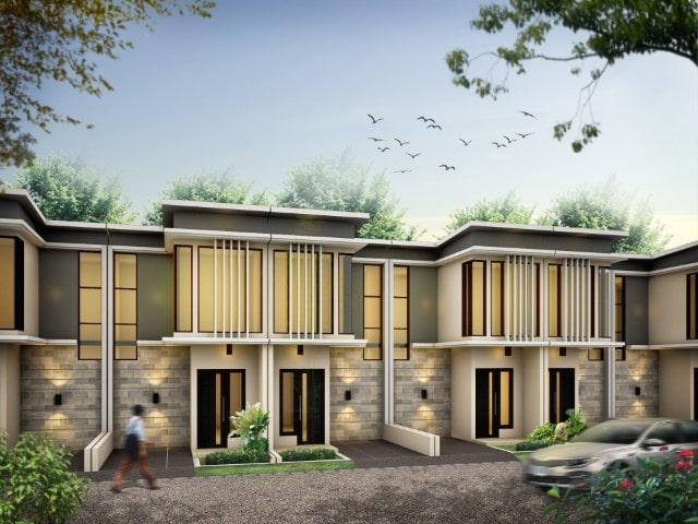 Rumah Perumahan Ahsana Townhouse Tropodo Mojokerto