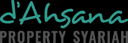Ahsana Property Syariah Company Logo Black