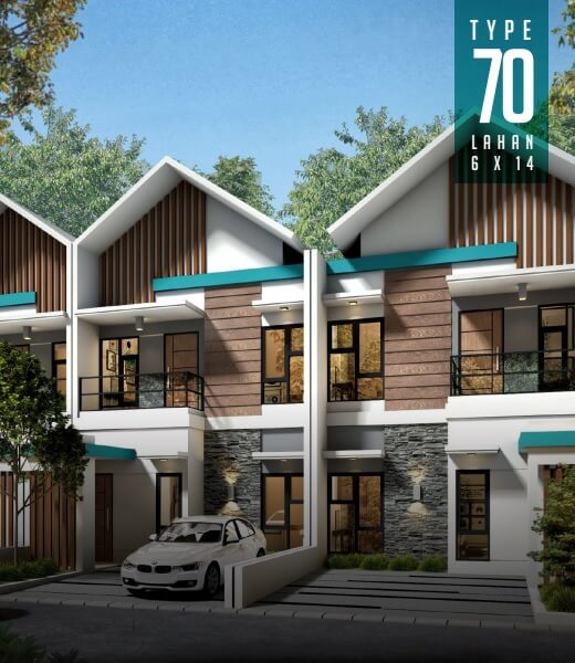 Rumah Type 70 Ahsana Elite Residence Tuban