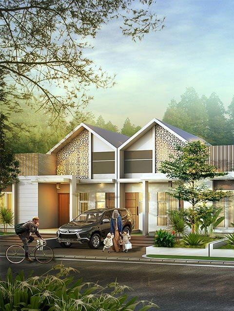 Rumah Syariah Ahsana Firdaus Residence Banjarbaru