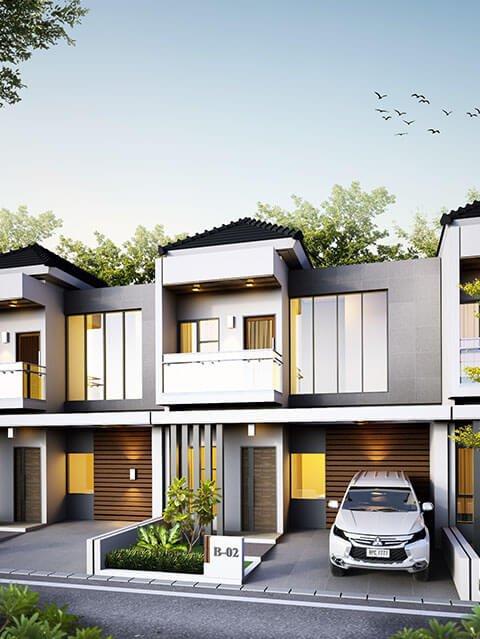 Rumah Syariah Ahsana Mansion Hills Villa Pacet Mojokerto