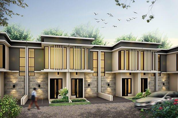 Rumah Syariah Ahsana Townhouse Tropodo Mojokerto
