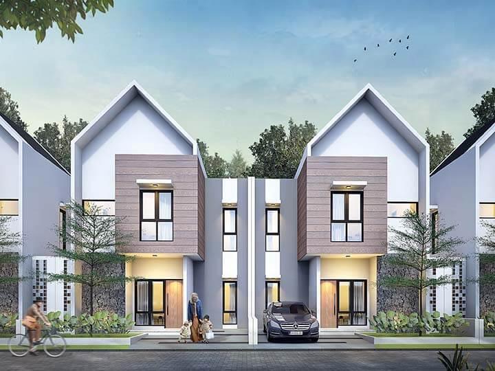Jual Kavling Kebonsari - Spesifikasi Rumah Type 58 Kebonsari