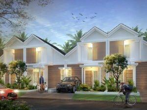Perumahan Mojokerto Kota - Rumah Type Mezanin di Kedungturi Mojokerto