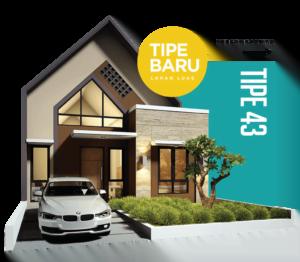 Spesifikasi Rumah Type 43 Perbon Tuban
