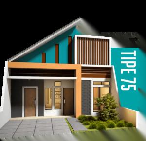 Spesifikasi Rumah Type 75 Perbon Tuban