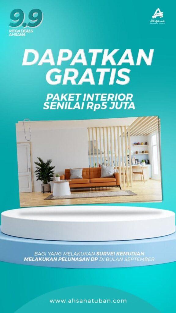 Promo Ahsana Elite Residence Tuban 9.9 Interior