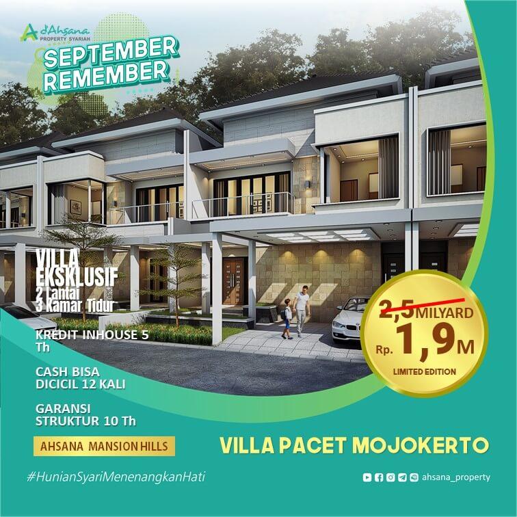 Promo Villa Eksklusif di Pacet